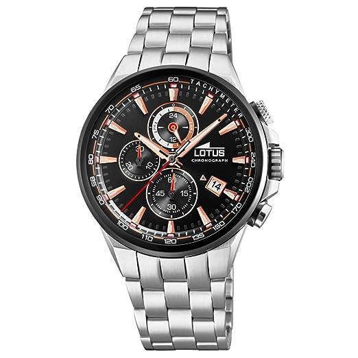 64729af7adb5 Reloj Hombre Chrono LOTUS - 18586 1  Amazon.es  Relojes
