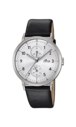 Lotus Watches Mens Multi dial Quartz Leather Strap 18509/1