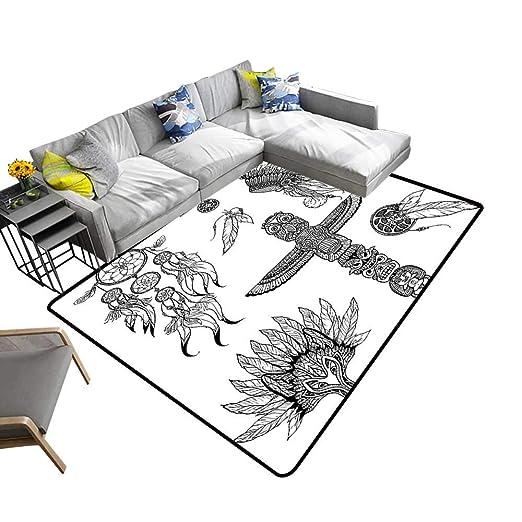 alsohome Alfombra de diseño Abstracto con diseño de Vector con ...