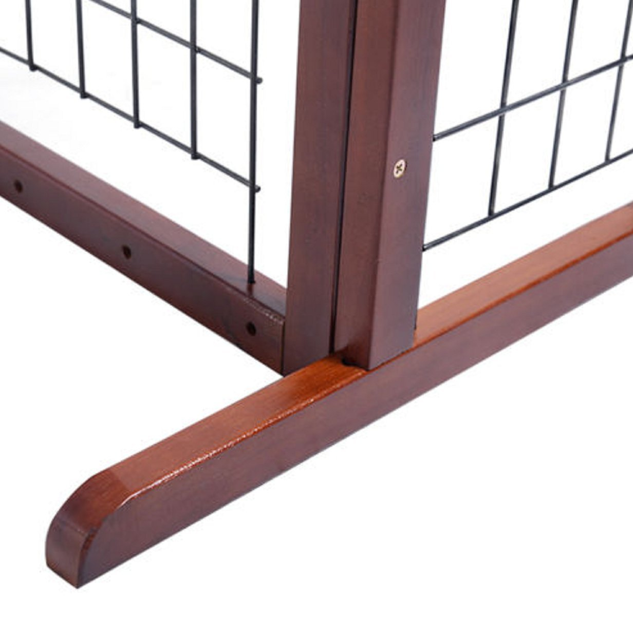 Gate Dog Wood Door Paw Wide Tall Adjustable Indoor Solid Construction Pet by SisterYou (Image #6)