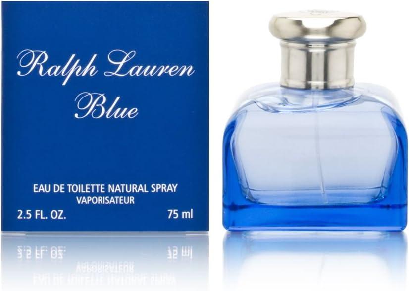 Ralph Lauren Blue Eau De Toilette Spray 75ml: Amazon.es: Electrónica