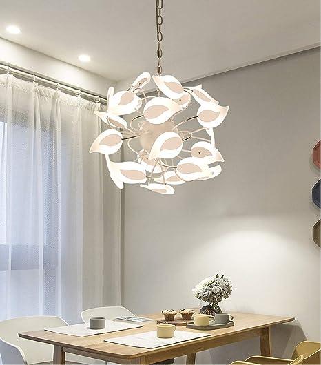 KuanDar Chandelier LED Lampadario Camera Letto Moderno ...
