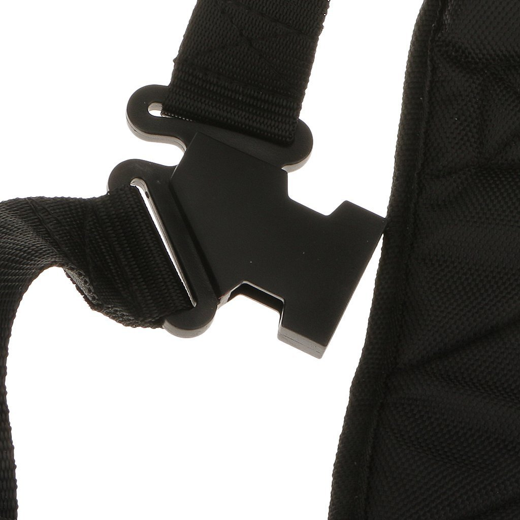 Black Comfort Strap Double Shoulder Harness Strap For Brush Cutter, Grass Trimmer, Strimmer Harness, Garden Brush Cutter by Yundxi (Image #3)