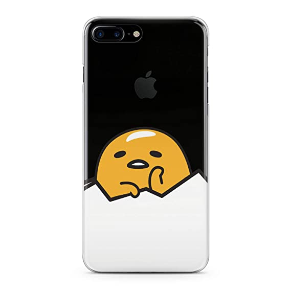 Lex Altern Tpu Case For Iphone Apple Xs Max Xr 10 X 8 7 6s 6 Se 5s 5 Kawaii Sad Yolk Clear Silicone Adorable Cover Print Protective Fettuccine