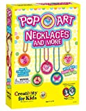Creativity for Kids Pop-Art Necklaces and More - Makes 10 Bottle Cap Accessories