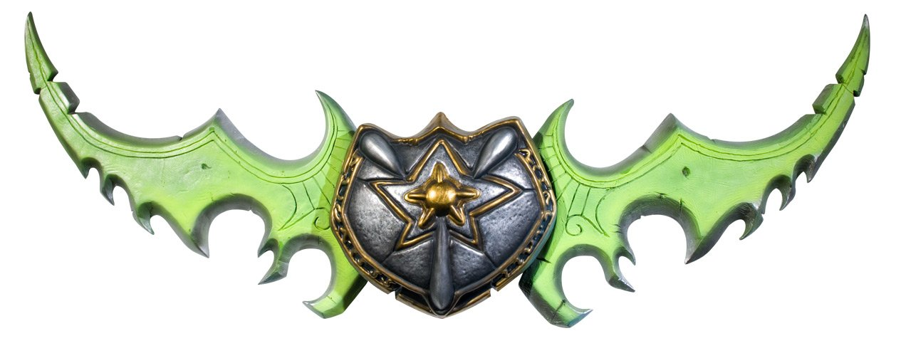 World Of Warcraft Warglaive Of Azzinoth Weapon, Standard Color, One Size