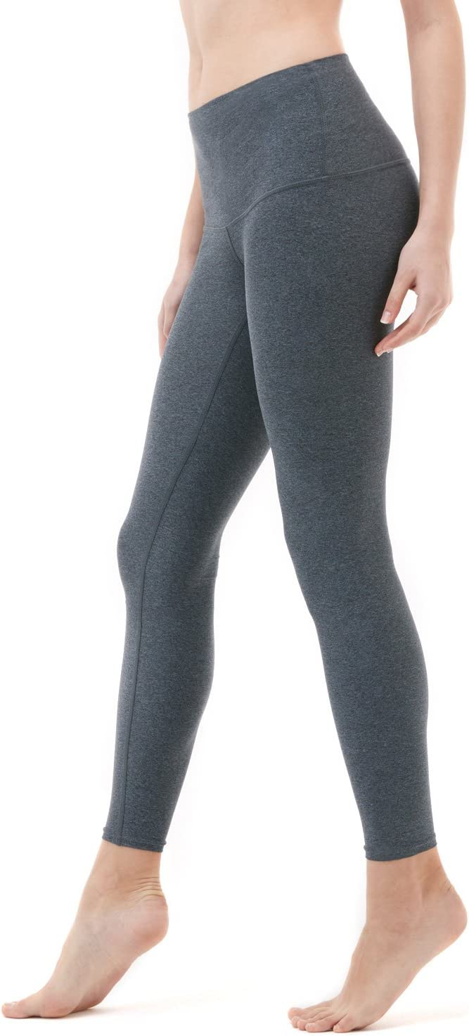 TSLA Yoga Pants Leggings High-Waist Tummy Control w Side//Hidden Pocket Series