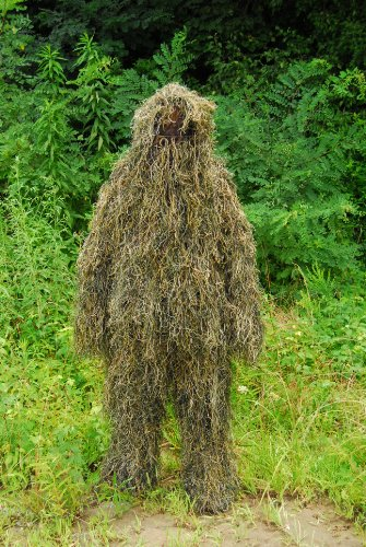 The Woodsman Ghillie Suit (Woodland, Medium)