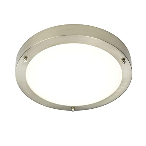 new york b20dc 263b2 Saxby Bathroom Portico lED IP44 9W Light Flush LED module 220-240V
