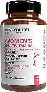 Multivitamin for Women - Supplement for Energy, Immunity, & Female Support