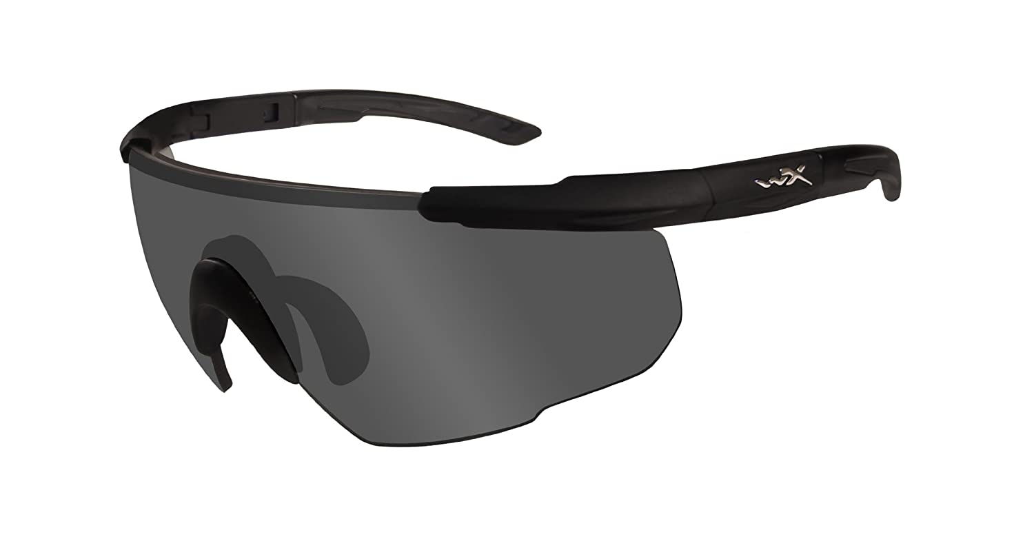 bc48a418894 Wiley X Saber Advanced 302 Protective Glasses Matte Black Size M XL   Amazon.co.uk  Sports   Outdoors
