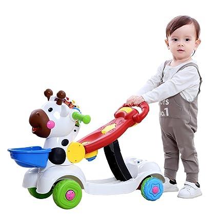 6-36 Meses Baby Walker, Trolley para niños, Cochecito de bebé multifunción,