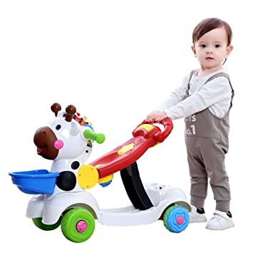Amazon.com : 6-36 Months Baby Walker, Childrens Trolley ...