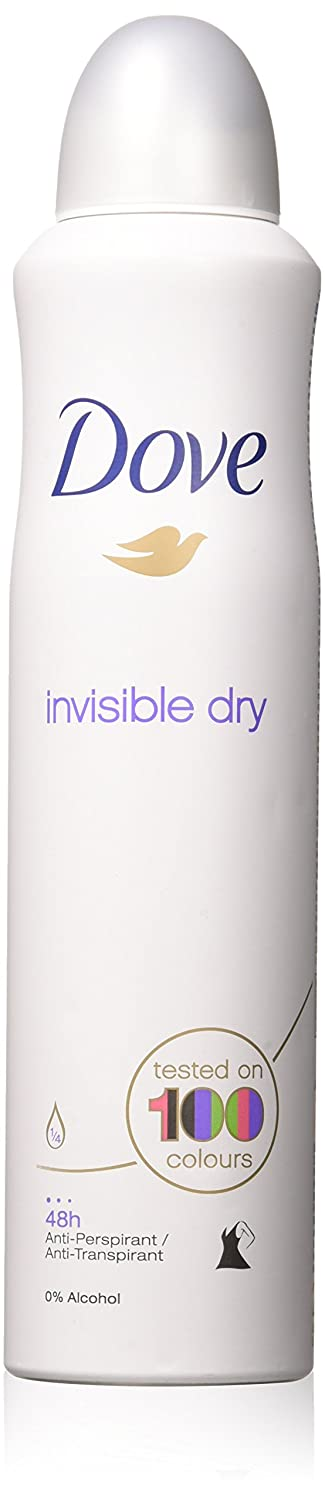 Dove (2 PACK) Dry Spray Antiperspirant 48 hours, (Invisible Dry) 5oz : Beauty