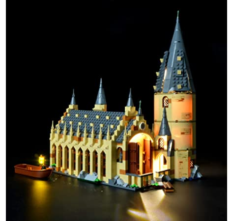 LEGO 75954 Harry Potter Gran Comedor de Hogwarts - Juguete de Construcción, con Minifiguras de Harry Potter: Amazon.es: Juguetes y juegos