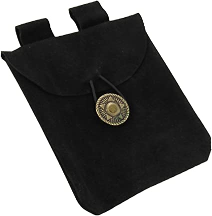 larping costume embossed vinyl Medieval coin purse