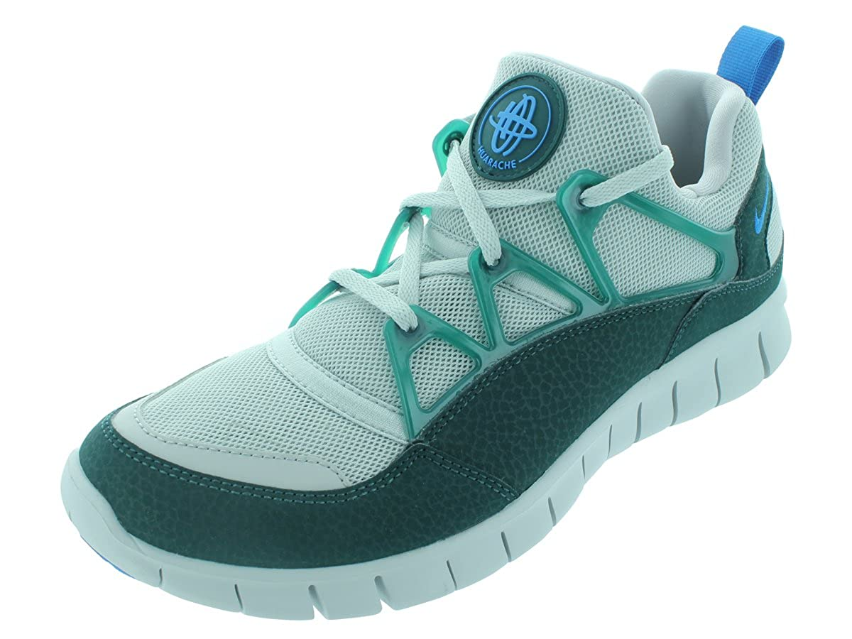 hot sale online 42921 30ca8 Amazon.com   Nike Free Huarache Light Mens Neutral Grey Black Atomic Teal  Athletic Sneakers   Road Running