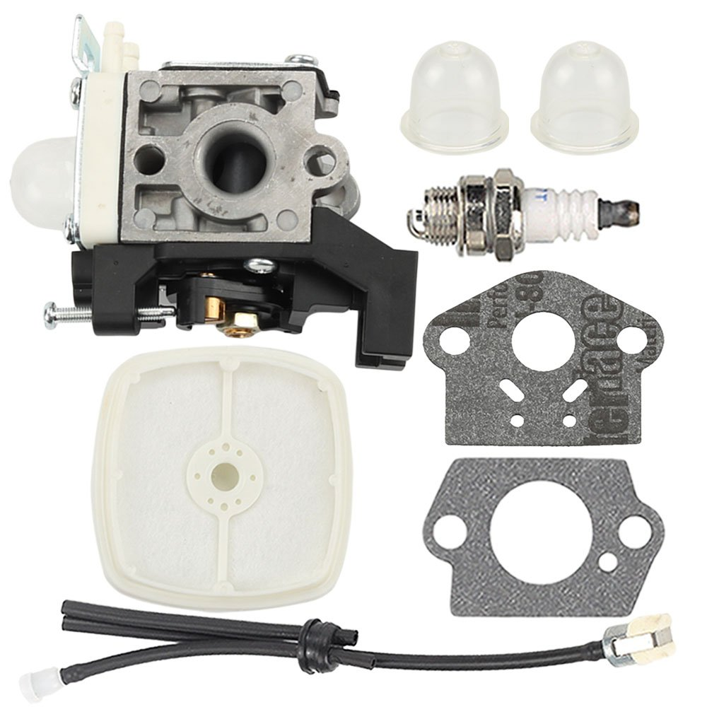Harbot Carburetor with Tune Up Kit for ECHO PPF-225 PPF-235ES PPT-235ES Power Pruner PE-225 Edger PAS-225 PAS-225SB PAS-225VP PAS-225VPB Gas Power Source Attachement RB-K93 A021001690 A021001691