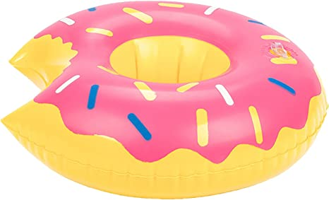 THEE Posavasos Inflable Flotador para Piscina o Playa: Amazon.es ...