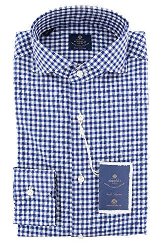 new-luigi-borrelli-blue-check-extra-slim-shirt