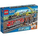LEGO City - 60098 - Jeu De Construction - Le Train de Marchandises Rouge