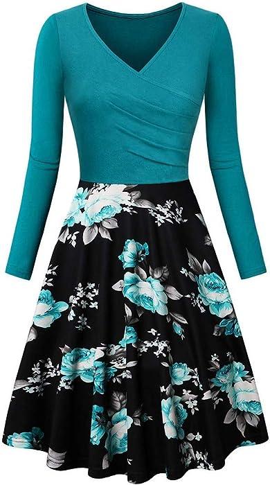 840687780 Vectry Ropa Mujer Vestidos Vestidos Casual De Mujer Primavera Vestidos  Largo De Elegante Moda Mujer 2019
