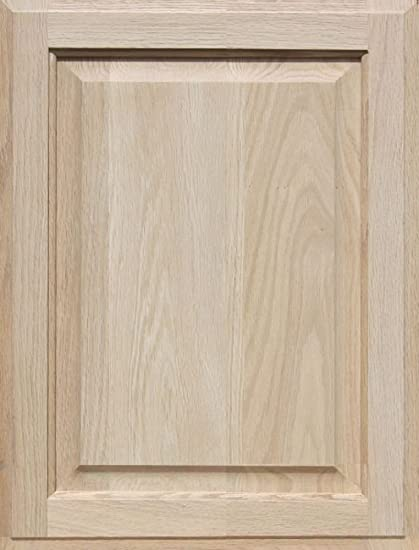 Charmant Unfinished Oak Cabinet Door, Square With Raised Panel By Kendor 21H X 16W