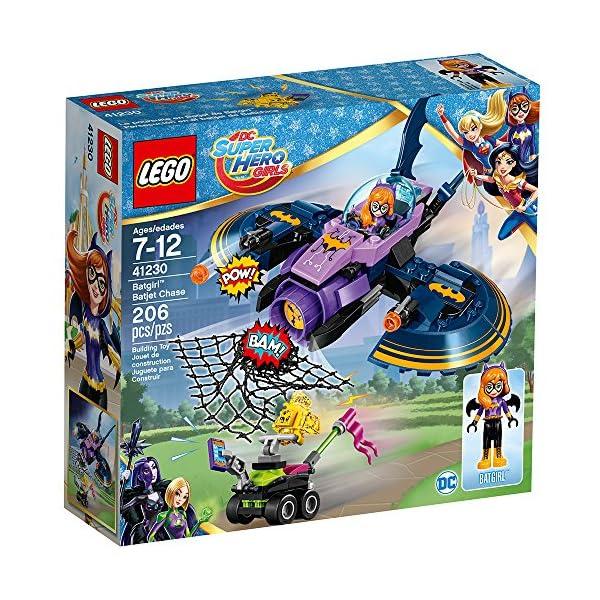 61PEza Q0CL LEGO DC Super Hero Girls Batgirl Batjet Chase 41230 DC Collectible