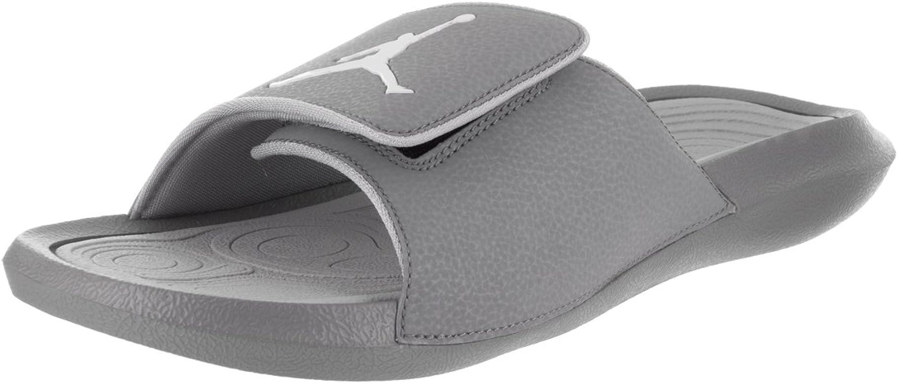 new products 4fc46 52176 Amazon.com   Jordan Nike Men's Hydro 6 Cool Grey/White/Wolf ...
