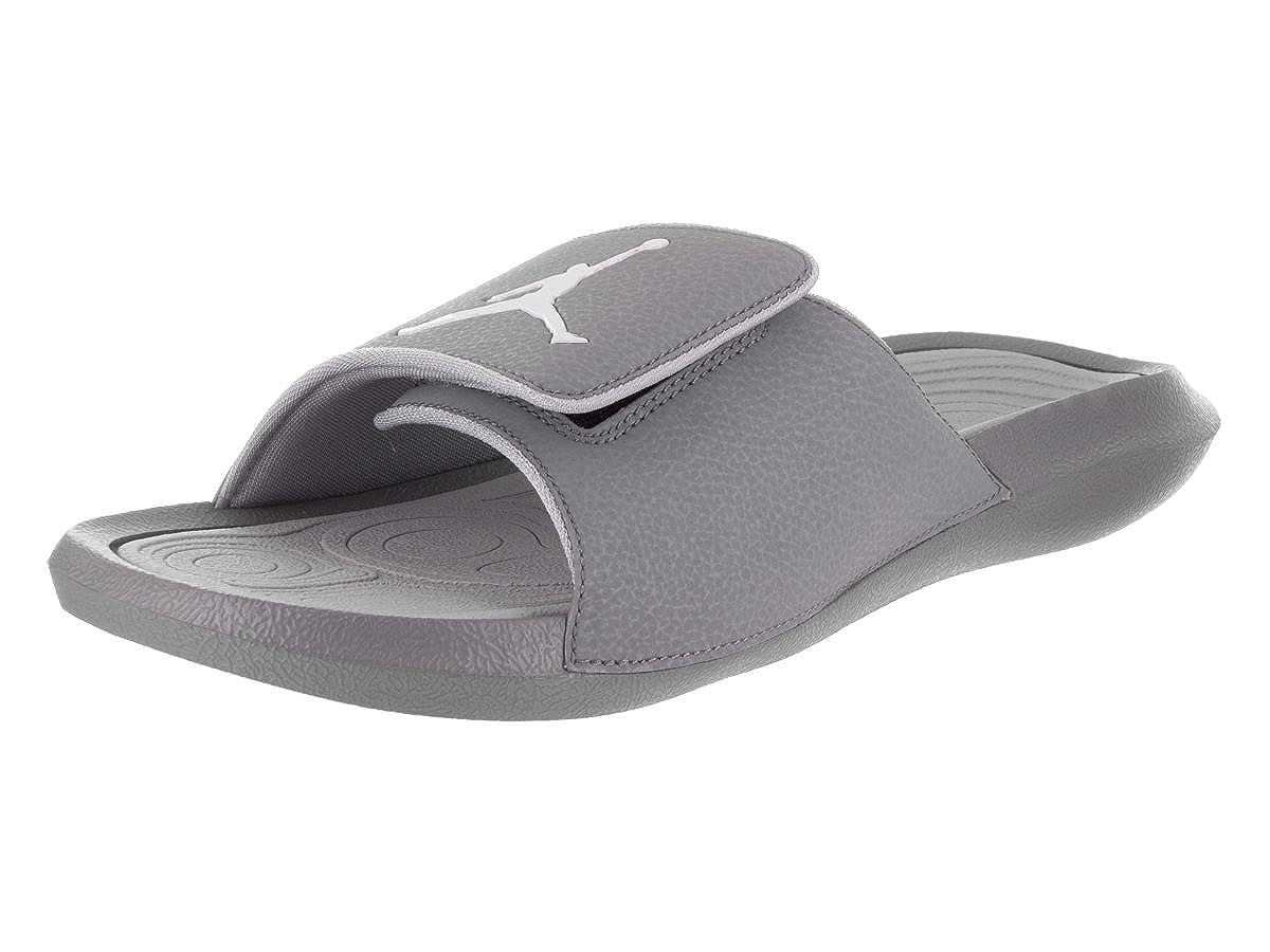 ecdcb2ef4fd Amazon.com | Nike Jordan Mens Hydro 6 Slide Sandals Cool Grey/White-Wolf  Grey 12 | Sandals