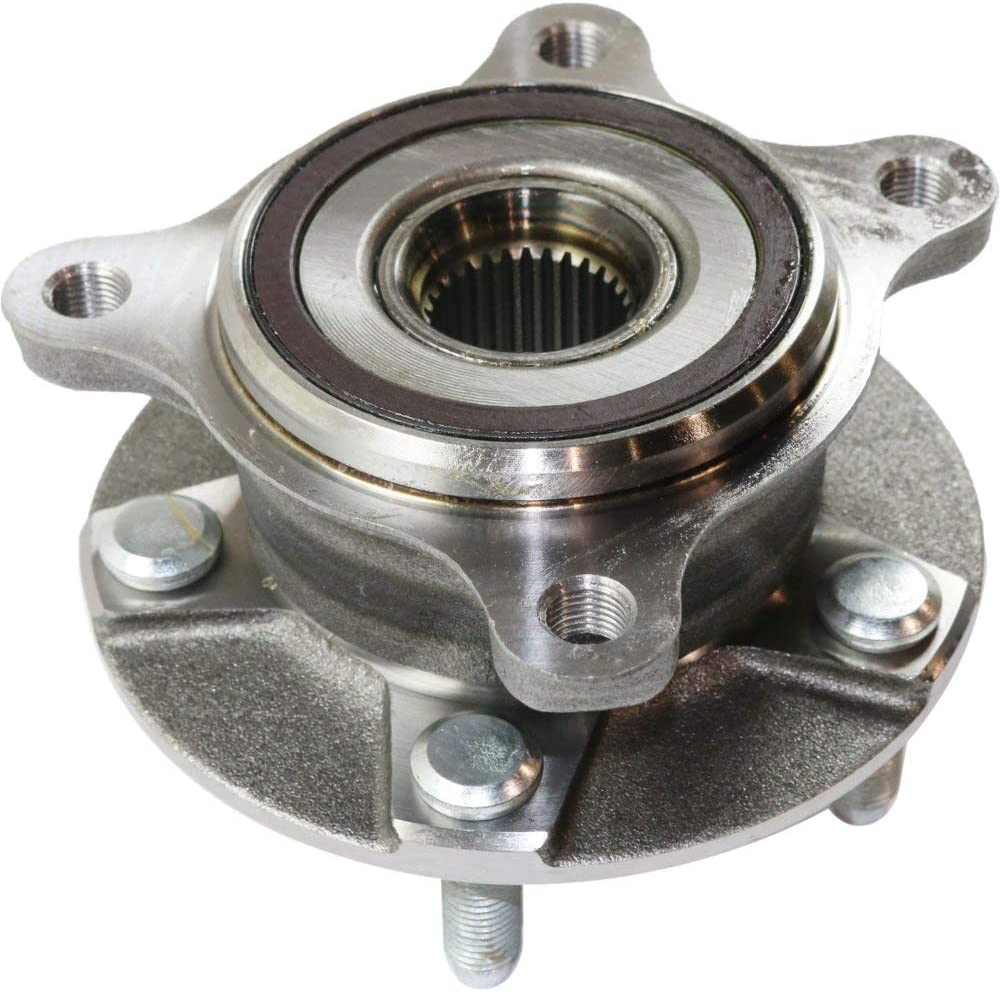 TIMKEN Wheel Bearing /& Hub Front Passenger Side for GS300 GS350 IS250 IS350 AWD