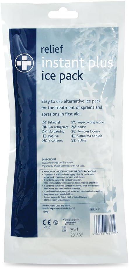 Reliance Medical 713 - Compresa de hielo, 150 g, 1 unidad