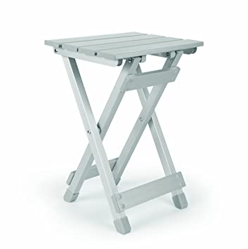 Amazon.com: Camco 51890 Aluminum Fold Away Side Table   Small: Automotive