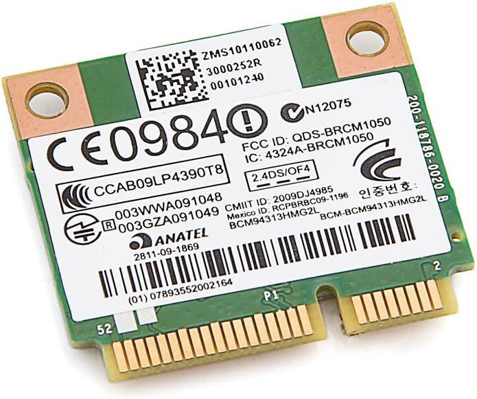 HP BCM94313HMG2L BCM4313 802.11BGN Mini PCI-E WiFi Wireless Card 2.4GHz 593836-001