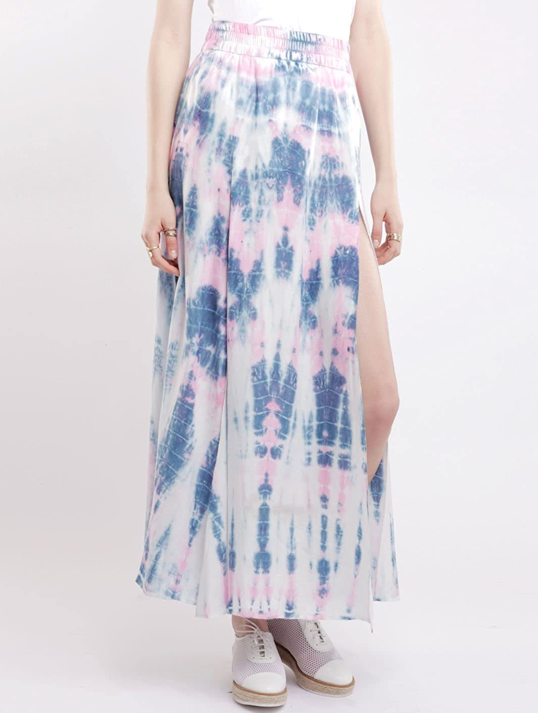 Falda larga Kwando S. Tie-Dye Somedays Lovin S Mujer: Amazon.es ...