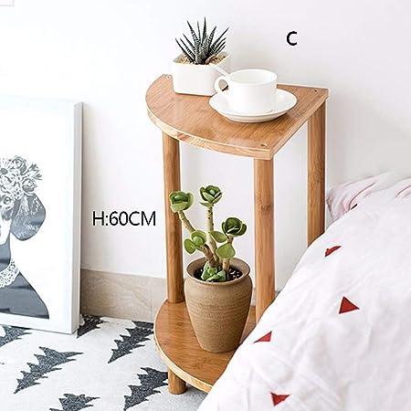 Soporte de exhibición de la planta, Soporte de flor de madera ...
