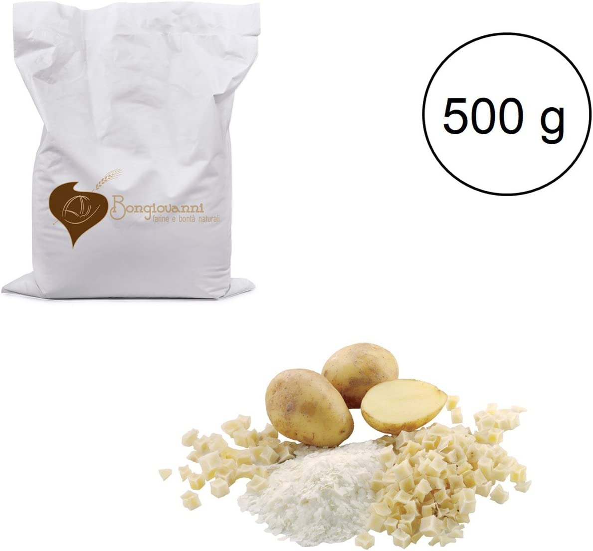 Fiocchi di Patate 500 g BIO: Amazon.es: Alimentación y bebidas