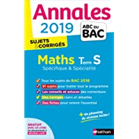 Annales ABC du BAC 2019 - Maths Term S Spé&Spé