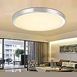LED Deckenlampe Deckenleuchte Badlampe Wandlampe Lampe Leuchte Warmweiss 12W/18W IP44 (12 Watt)