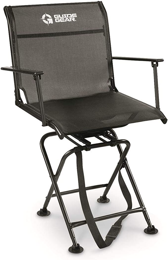 Guide Gear Big Boy Comfort Swivel Hunting Blind Chair