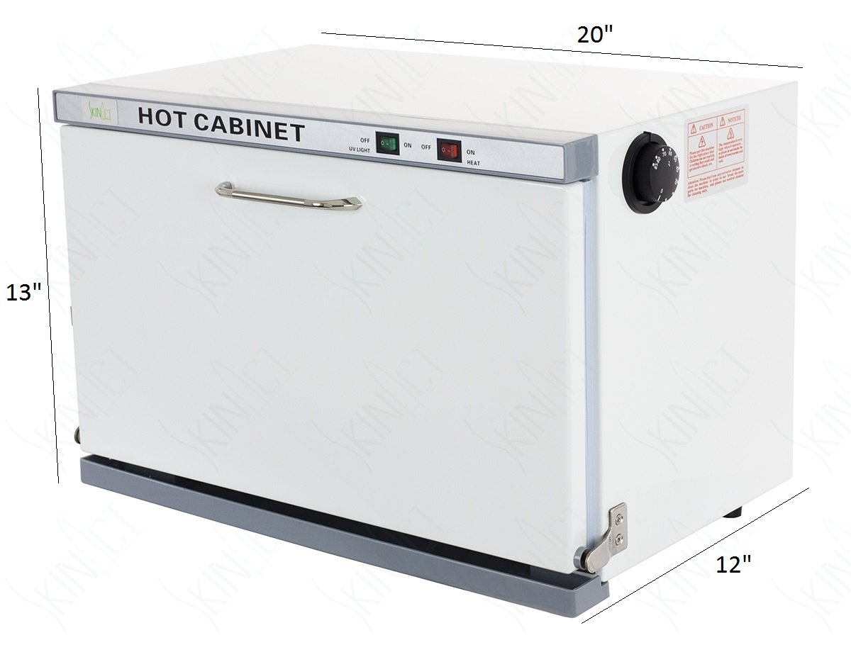 SkinAct Hot Towel Warmer Cabinet with Sterilizer Adjustable Temperature by Skin Act (Image #2)