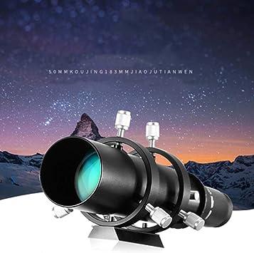Jacksking Helical Focuser Guide, 50mm Double Helical Focuser Guide Scope Finderscope for Astronomical Telescope
