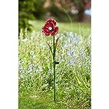 Smart Garden Solar Light Up LED Garden Poppy Flower