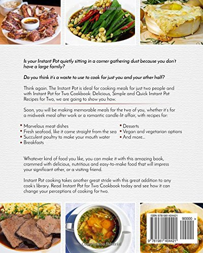 Instant pot for two cookbook delicious simple and quick instant instant pot for two cookbook delicious simple and quick instant pot recipes for two instant pot cookbook ashley birch 9781981404421 amazon books forumfinder Gallery