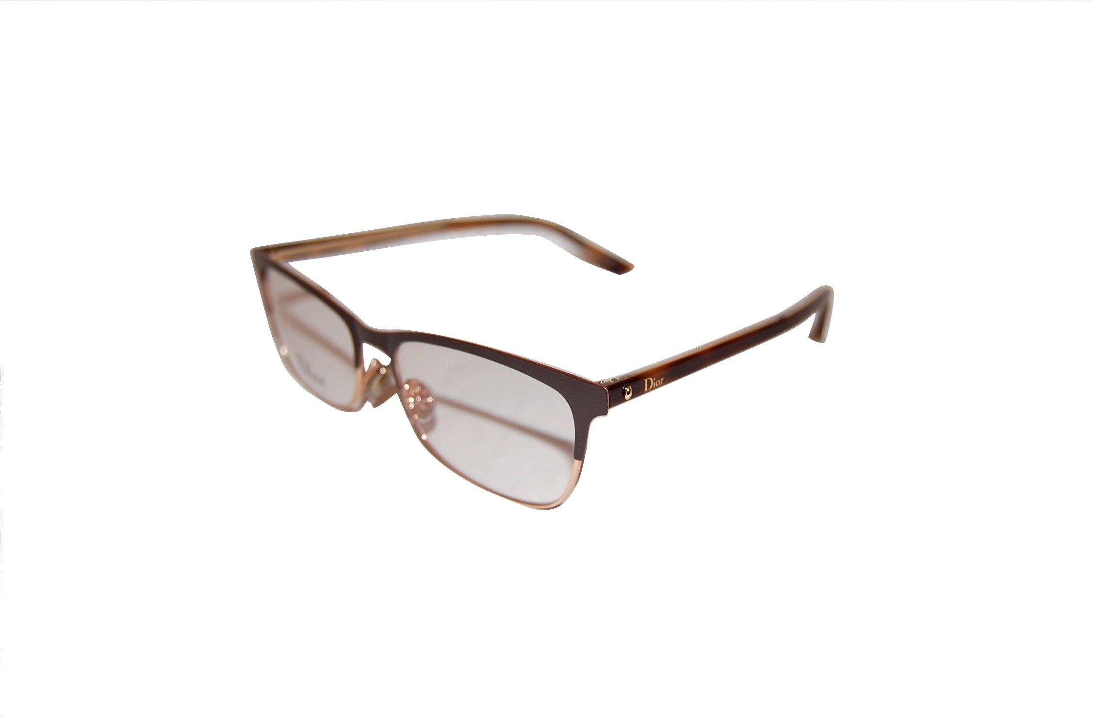 Dior montaigne 32 sfd Matte Burgundy Black Eyeglasses