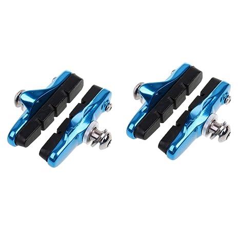 Mountain Bike /& BMX Pair of BLUE V brake blocks Bicycle Break Shoes Pads New MTB