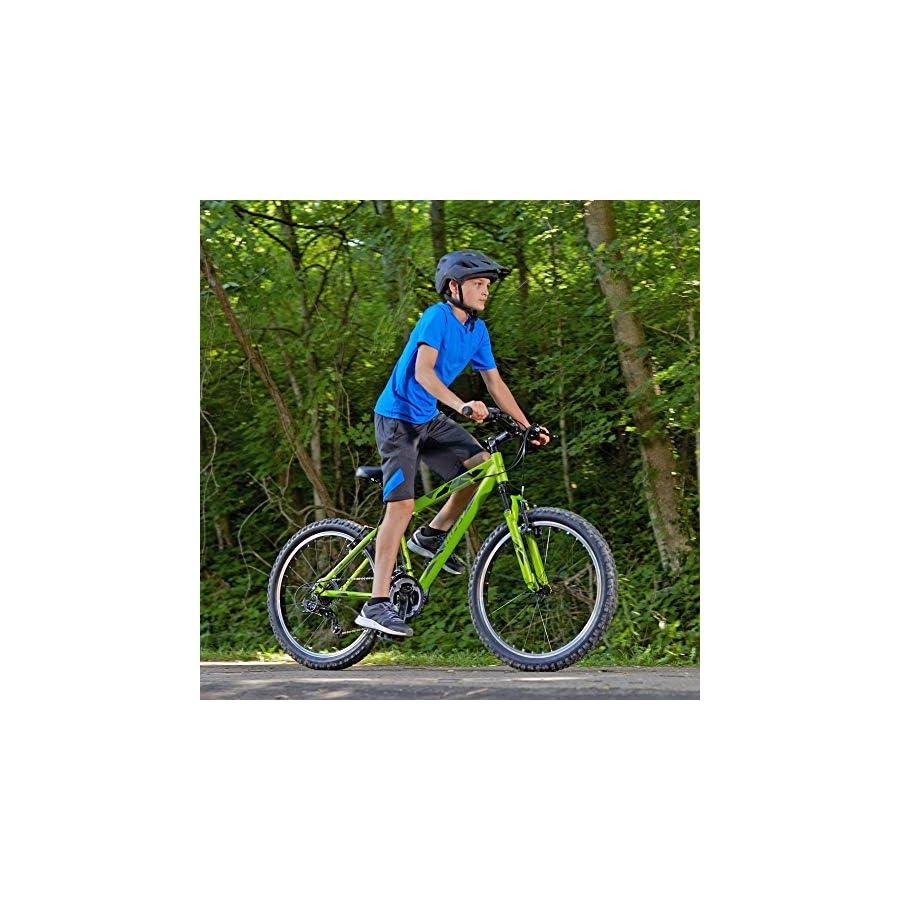Huffy Mountain Bike Aluminum Frame 21 Speed Tekton with Shimano Derailleur