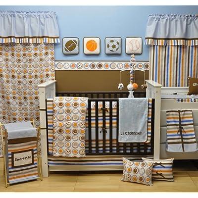 Image of Baby Bacati Mod Sports 11 Piece Crib Set