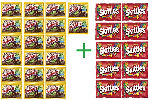 raisinets-milk-chocolate-covered-raisins-158-oz-pack-of-20-10-pack-of-skittles-217-oz-bundle