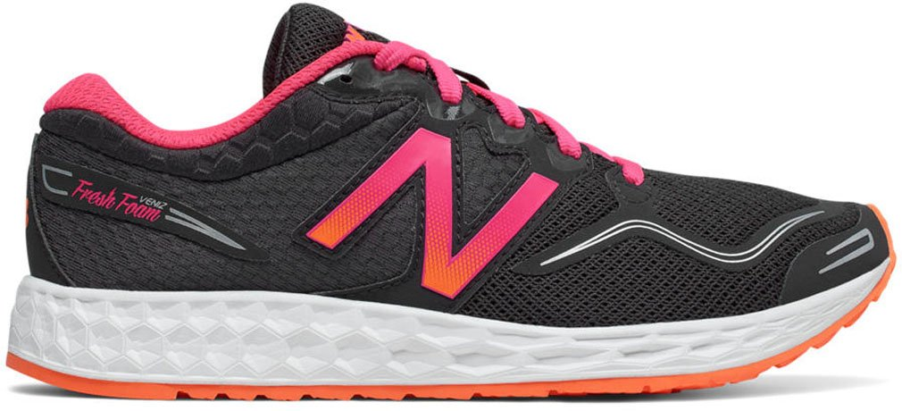 New Balance Women's Veniz V1 Running Shoe B01N5TOSOL 7 B(M) US|Alpha Pink/Vivid Tangerine/Phantom